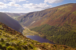 Photograph of Wicklow Glendalough Upper Lake - W32910