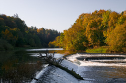 Photograph of Boyne Weir near Slane - W39176