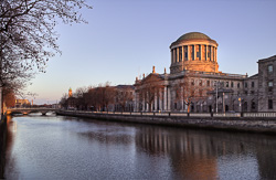 Photograph of Dublin Four Courts - W40764