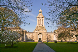 Photograph of Dublin Trinity College Campanile - W40848