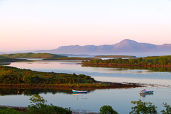 Photograph of Westport Clew Bay at Dawn.psd - W42613