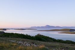 Photograph of Clew Bay with Islands - W42621