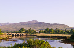 Photograph of Newport River and Bridge - W42639