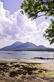 Photograph of Croagh Patrick from Old Head - W42684
