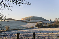 Photograph of Boyne Newgrange Winter Morning - W44627