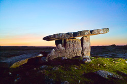 Photograph of Clare - Poulnabrone Dolmen - W47626