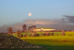 Photograph of Newgrange - Hunters Moon - W50159