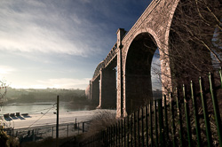 Photograph of Drogheda Boyne Viaduct - W50889