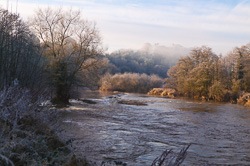 Photograph of Winter Morning on the Boyne - W51222
