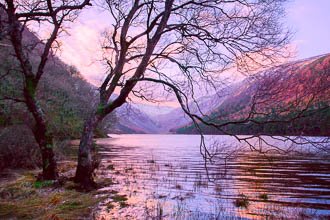 Photograph of Wicklow Glendalough Upper Lake - W52730