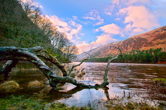 Photograph of Wicklow Glendalough Upper Lake - W52759