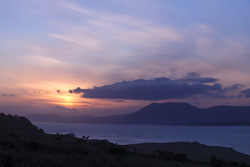 Photograph of Beara Peninsula at Sunset - W53976