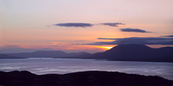 Photograph of Bantry Bay at Sunset - W54181