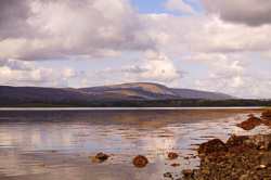 Photograph of Sligo Knockalongy from Strandhill - W59343
