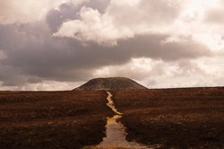 Photograph of Knocknarea Maeve's Cairn - Sligo