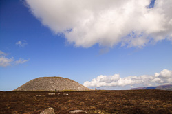 Photograph of Sligo Knocknarea Mebs Cairn - W59473