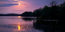 Photograph of Sligo Lough Arrow at Sunset - W59716