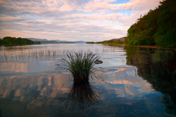 Photograph of Lough Gill at Sunset - W60503