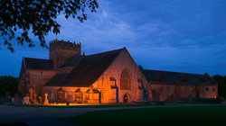 Photograph of Holycross Abbey Illuminated - X69092